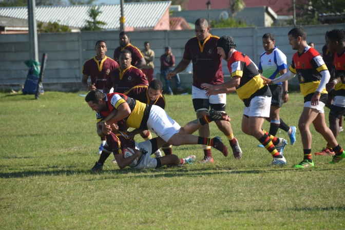 Lazz hatrick gives the 3rd XV 5 points Tygerberg