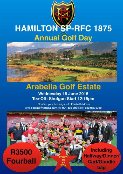 Hammies Golf Day 2016