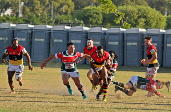 Late try saves False Bay blushes!